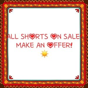 All Shorts!